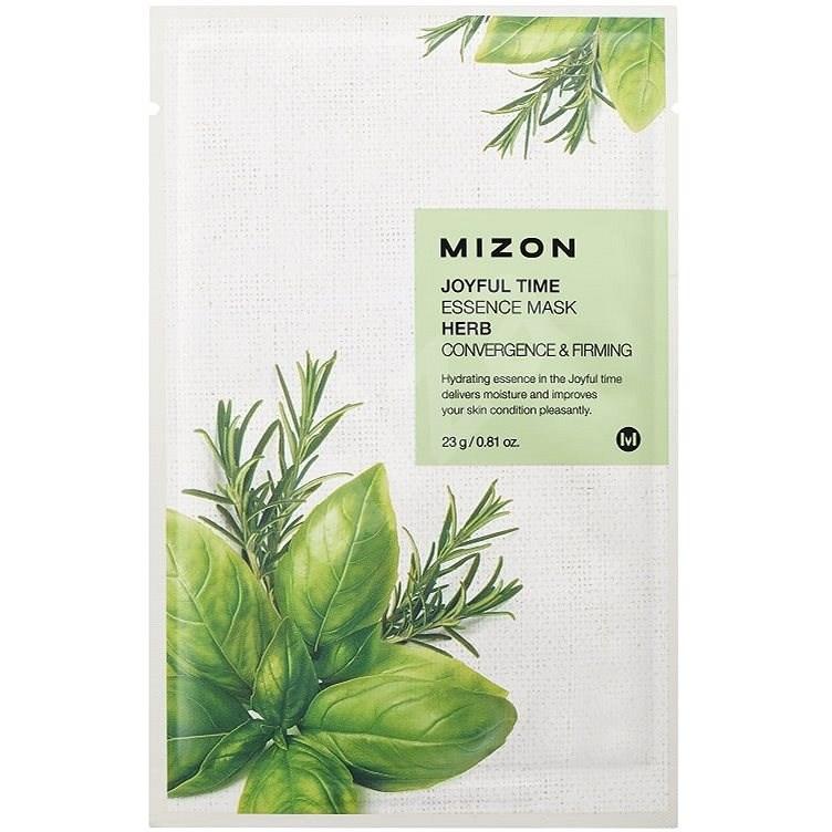 MIZON Joyful Time Essence Mask Herb 23 g - Pleťová maska
