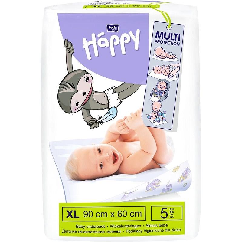 BELLA Baby HAPPY 90 × 60 cm, 5 ks - Přebalovací podložka
