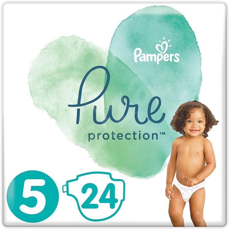 PAMPERS Pure Protection vel. 5 (24 ks) - Dětské pleny