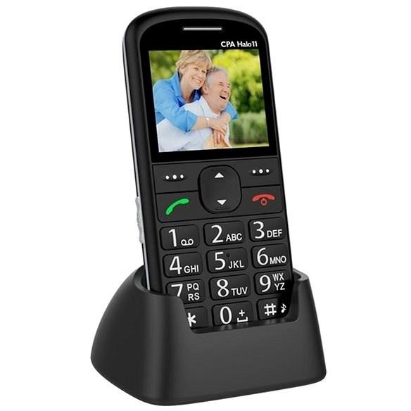 CPA Halo 11 Senior černý - Mobilní telefon