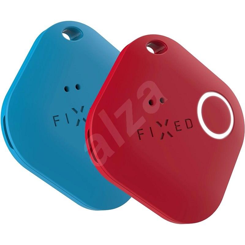 FIXED Smile PRO Duo Pack - modrý + červený - Bluetooth lokalizační čip