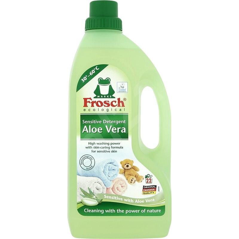 FROSCH EKO Prací prostředek sensitive Aloe vera 1,5 l (22 praní) - Eko prací gel