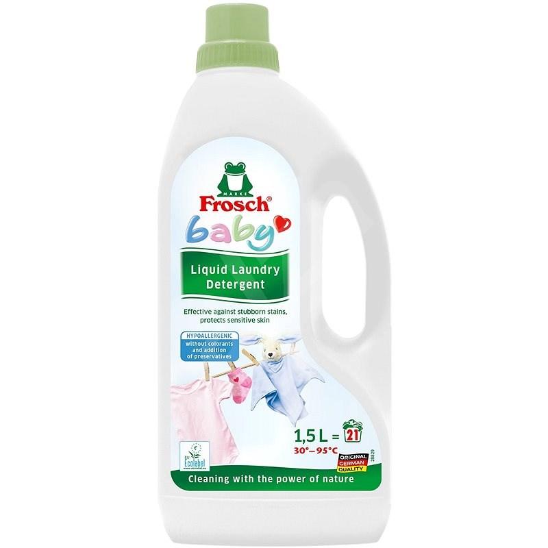 FROSCH Baby na kojenecké prádlo 1,5 l (21 praní) - Eko prací gel