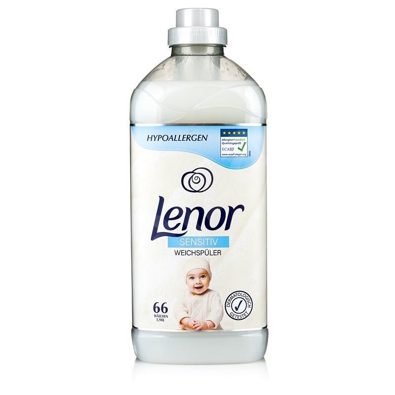 LENOR Sensitiv 1,98 l (66 praní) - Aviváž