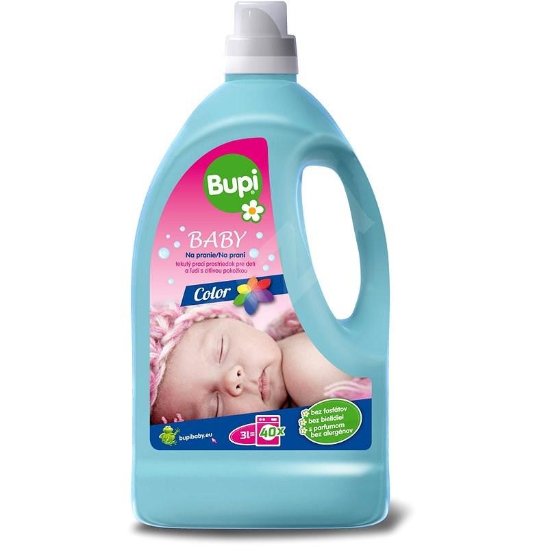 BUPI Baby Color Tekutý prací prostředek 3 l (40 praní) - Prací gel