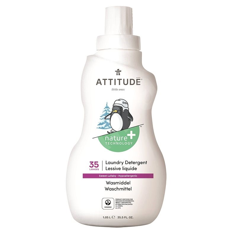 ATTITUDE Prací gel Sweet Lullaby 1,05 l (35 praní) - Eko prací gel