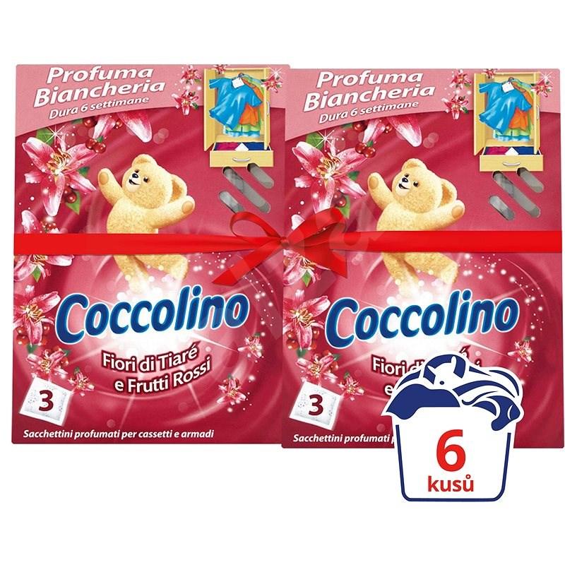 COCCOLINO Frutti Rossi vůně do skříně 2 × 3 ks - Vůně do skříně