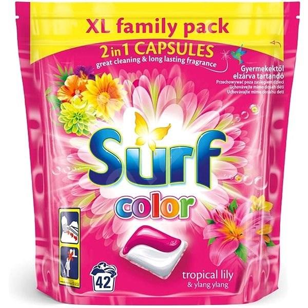 SURF Color Tropical 2in1 42 ks (42 praní) - Kapsle na praní