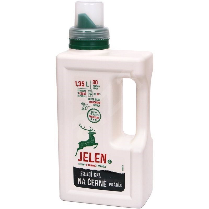 JELEN Prací gel na černé prádlo 1,35 l (30 praní) - Eko prací gel