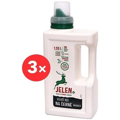 JELEN Prací gel na černé prádlo 3× 1,35 l (90 praní) - Eko prací gel
