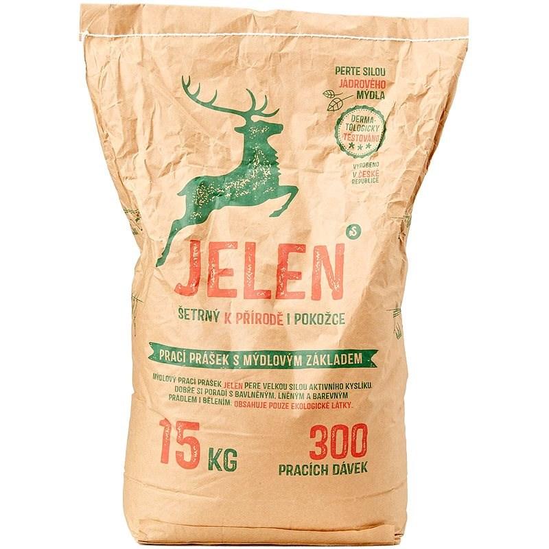 JELEN mýdlový prášek 15 kg (300 praní) - Eko prací prášek