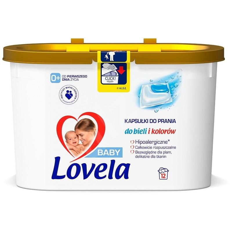LOVELA gelové kapsle na praní 12 ks - Kapsle na praní