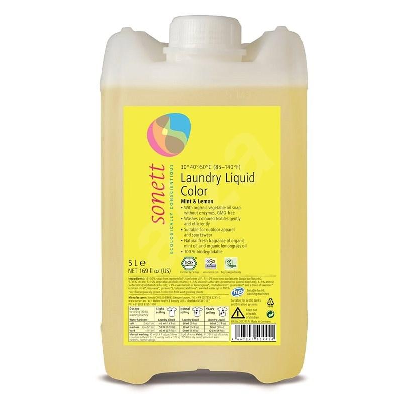 SONETT Color 5 l - Eko prací gel