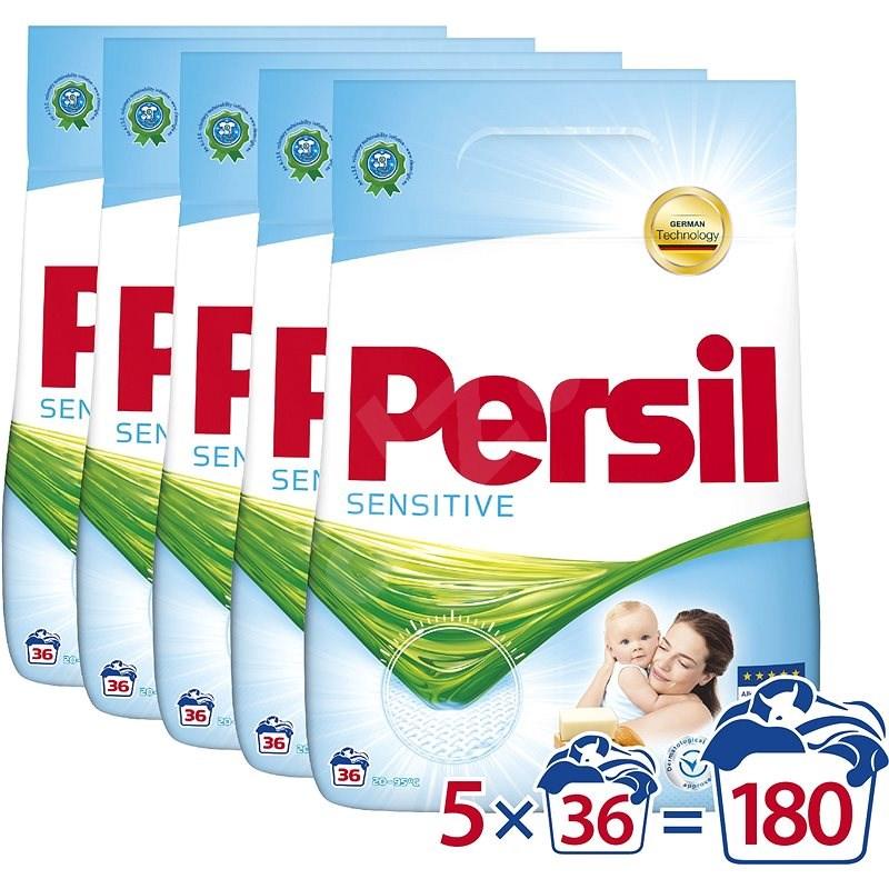 PERSIL Sensitive 5 × 2,3 kg (180 praní) - Prací prášek