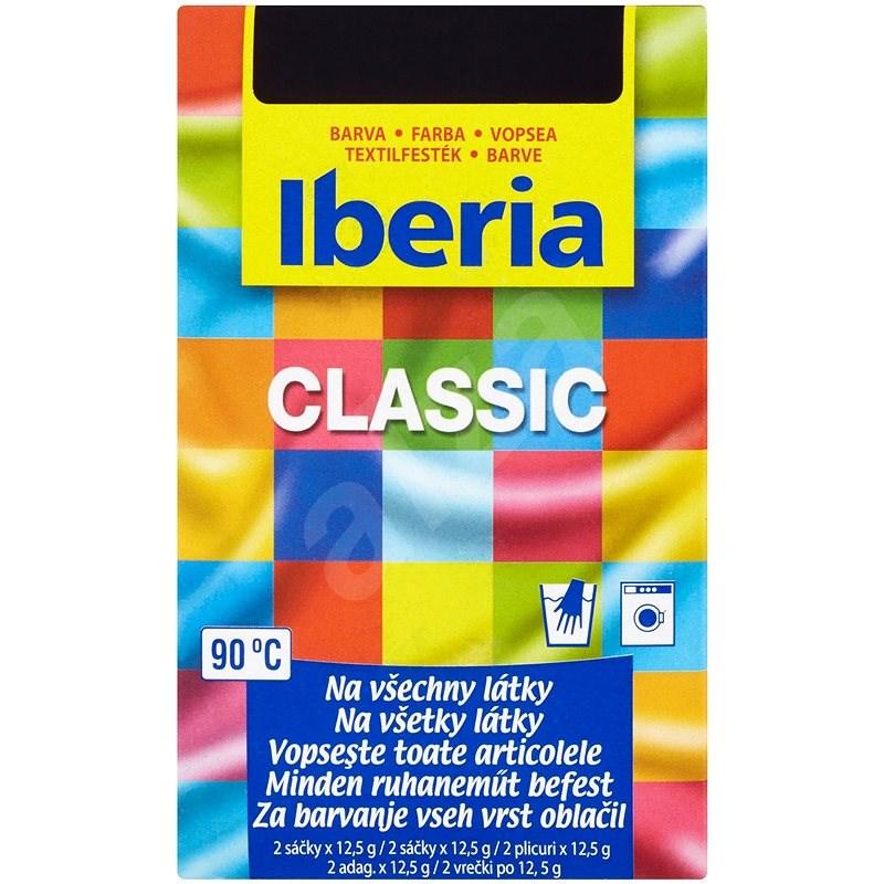 IBERIA černá 2 × 12,5 g - Barva na textil