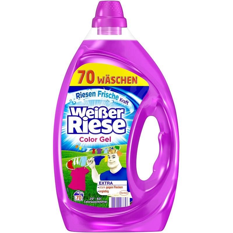 WEISSER RIESE gel Color 3,5 l (70 praní) - Prací gel
