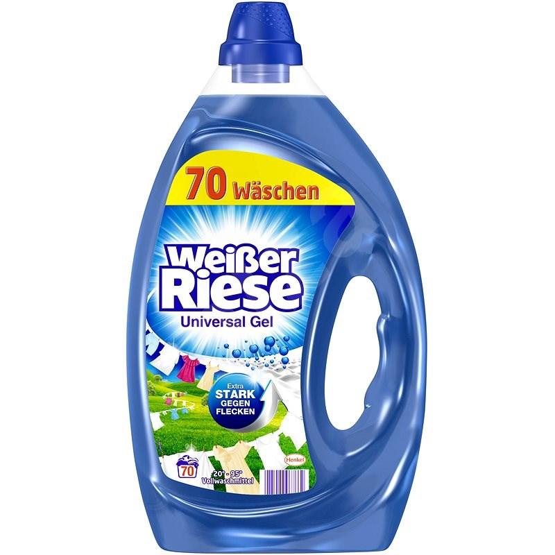 WEISSER RIESE gel Universal 3,5 l (70 praní) - Prací gel