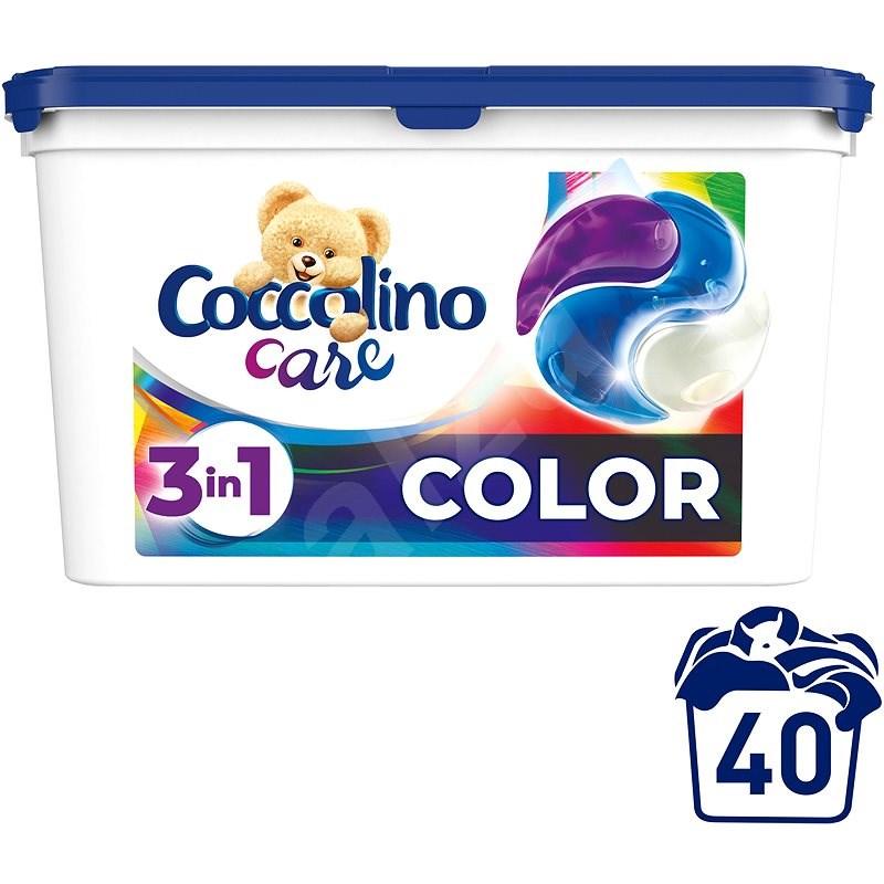 COCCOLINO Care Color 40 ks - Kapsle na praní
