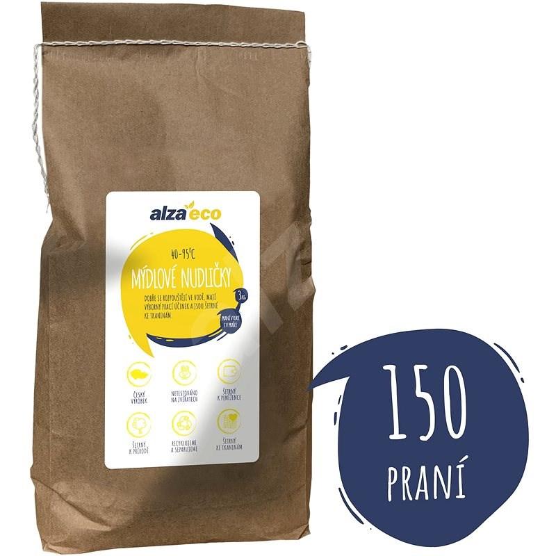AlzaEco Mýdlové nudličky 3 kg (150 praní) - Mýdlo na praní