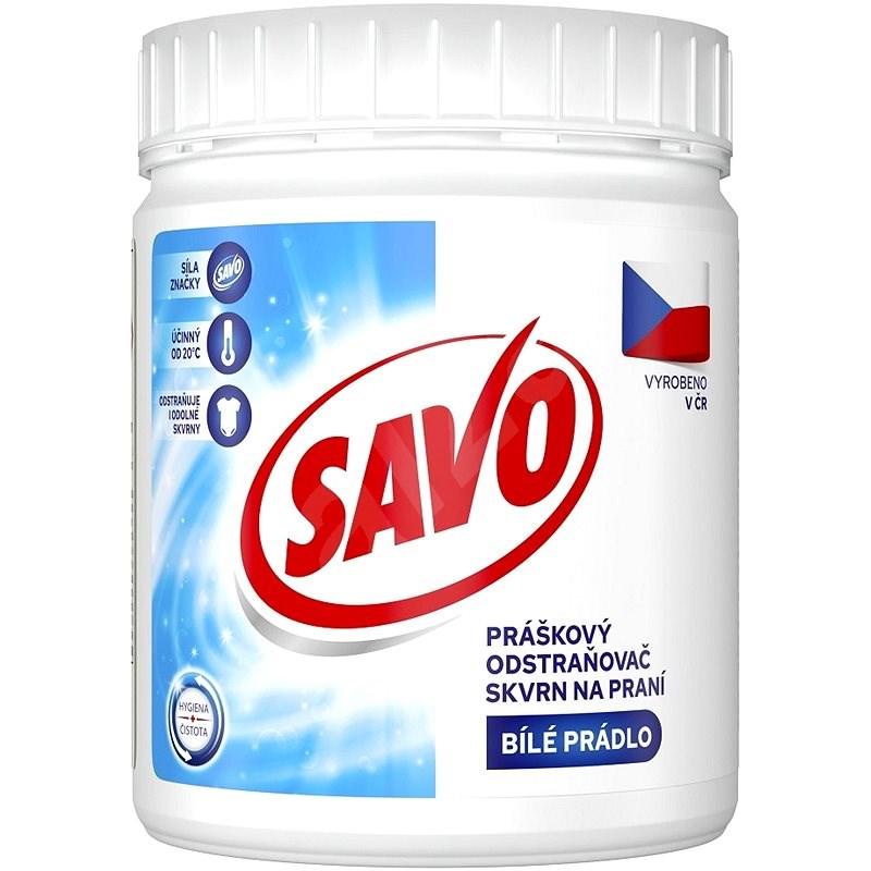 SAVO práškový na bílé prádlo 450 g (20 praní) - Odstraňovač skvrn