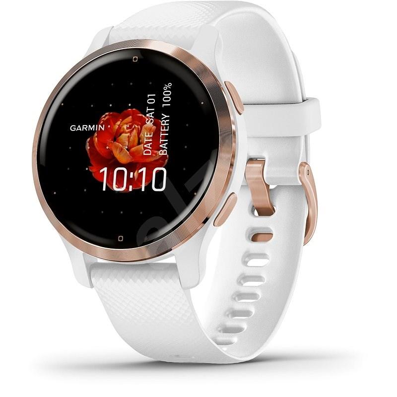 Garmin Venu 2S Rose Gold /White Band - Chytré hodinky