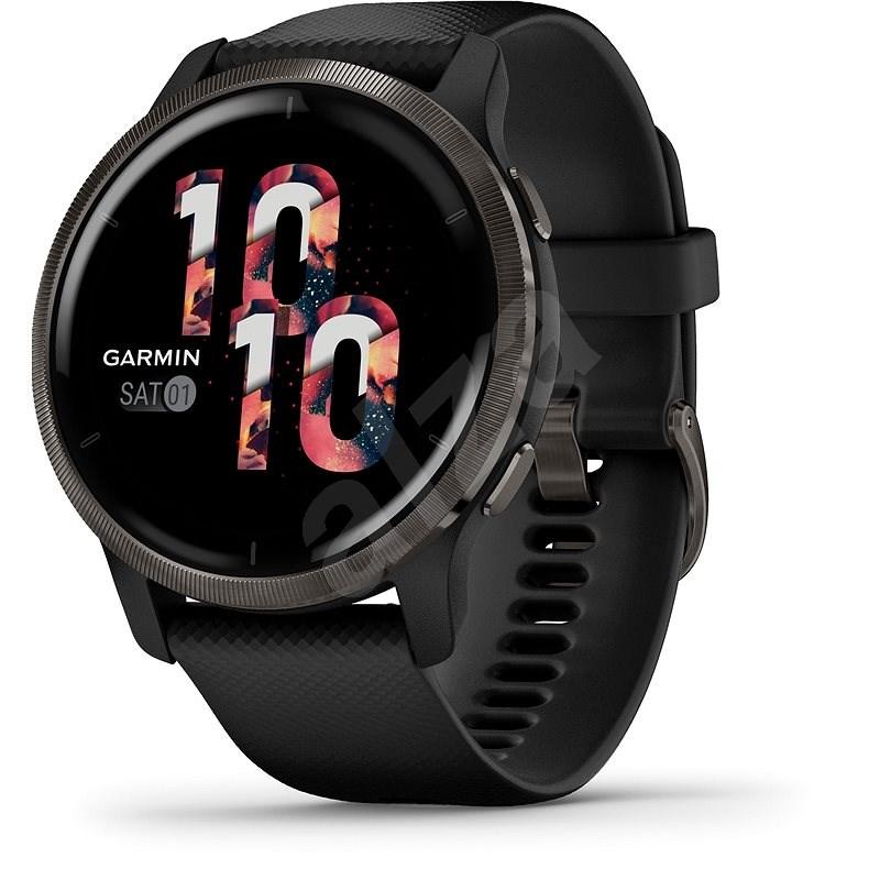 Garmin Venu 2 Slate/Black Band - Chytré hodinky