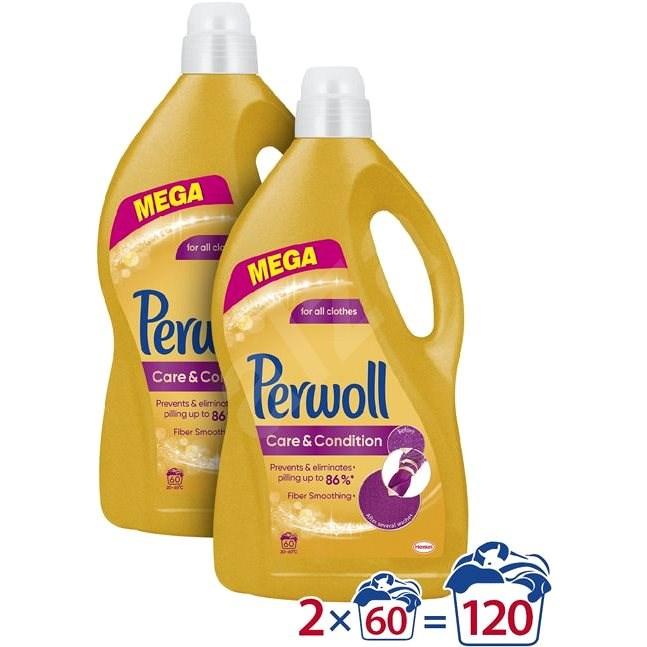 PERWOLL Care&Repair 2× 3,6 l (120 praní) - Prací gel