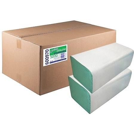 LINTEO ZZ STANDARD 5000 zelené 20× 250 ks - Papírové ručníky