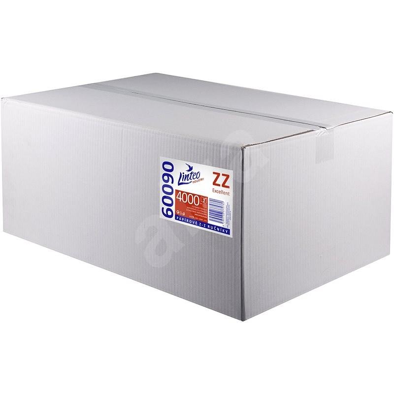 LINTEO ZZ 4000 bílé 20 x 200 ks - Papírové ručníky