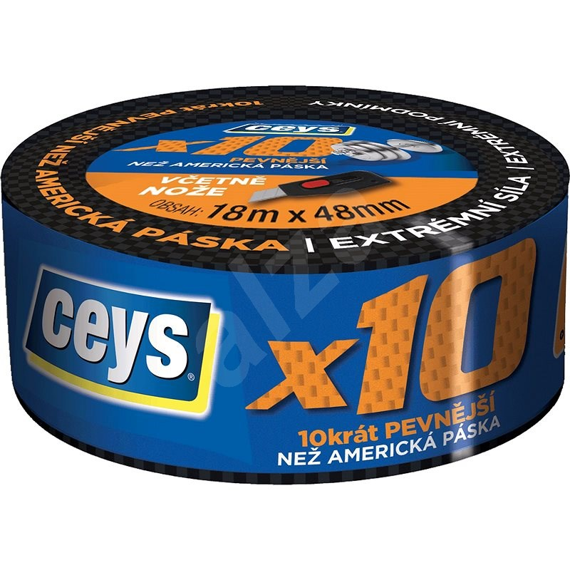 CEYS Professional x10 18m x 48mm - Duct Tape
