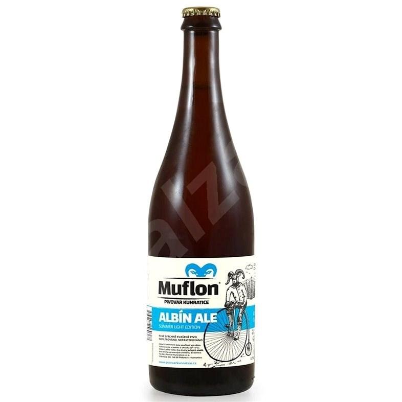 Muflon Albín Ale 10,5° 0,75l - Pivo