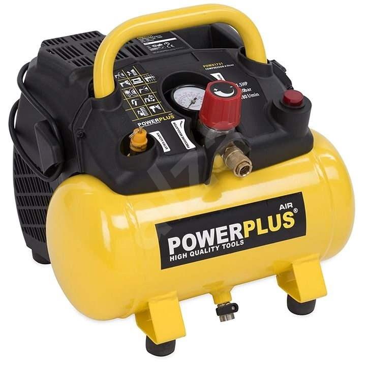 POWERPLUS POWX1721 - Kompresor