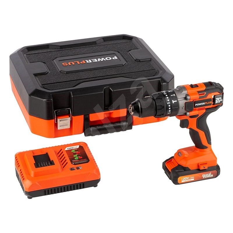 POWERPLUS POWDP15210 - Cordless Drill