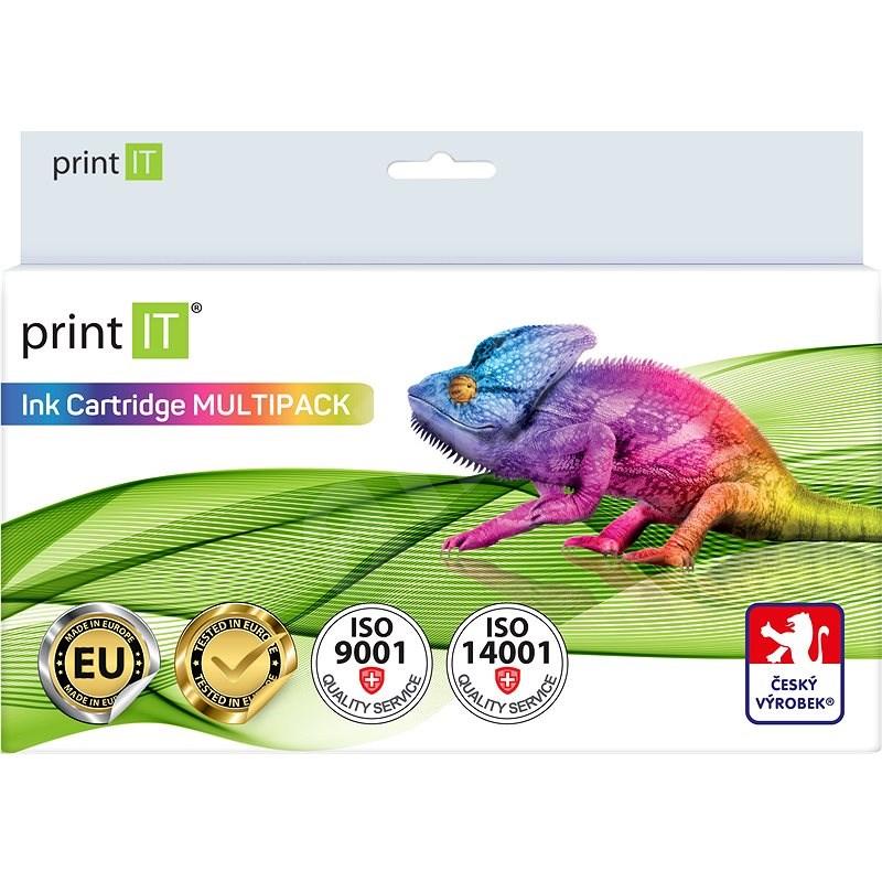 PRINT IT Multipack PGI-570BK + CLI-571 C/M/Y/Bk pro tiskárny Canon - Alternativní inkoust