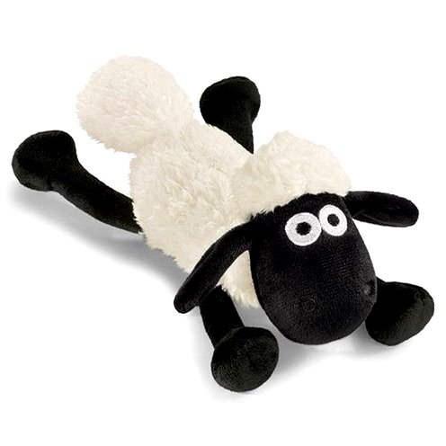 Ležící ovečka Shaun  - Plyšová hračka