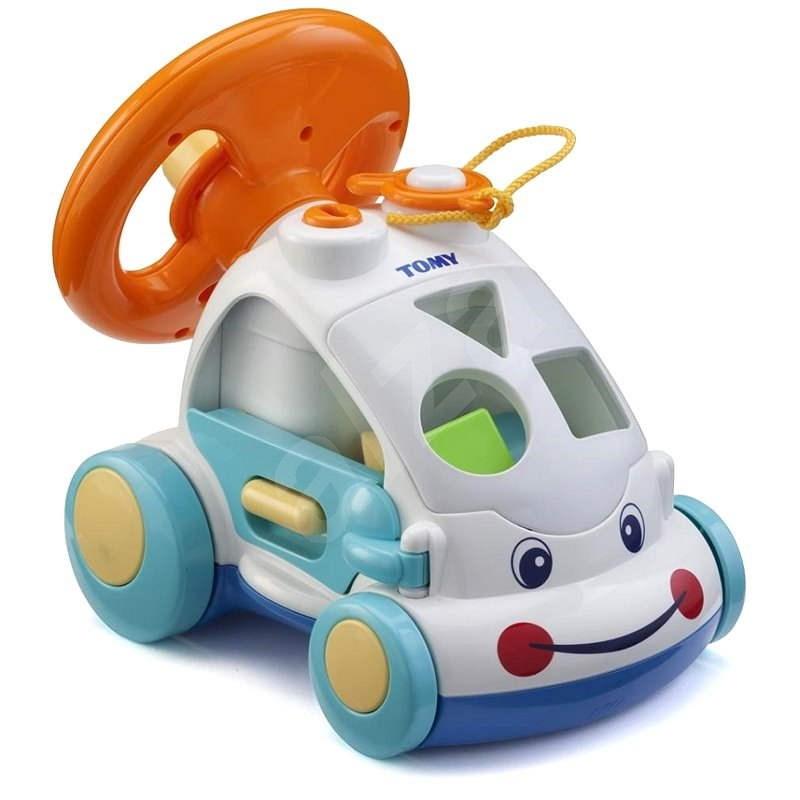 Aktivity auto s tvary - Didaktická hračka