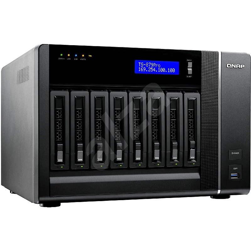 QNAP TS-879 Pro - Datové úložiště