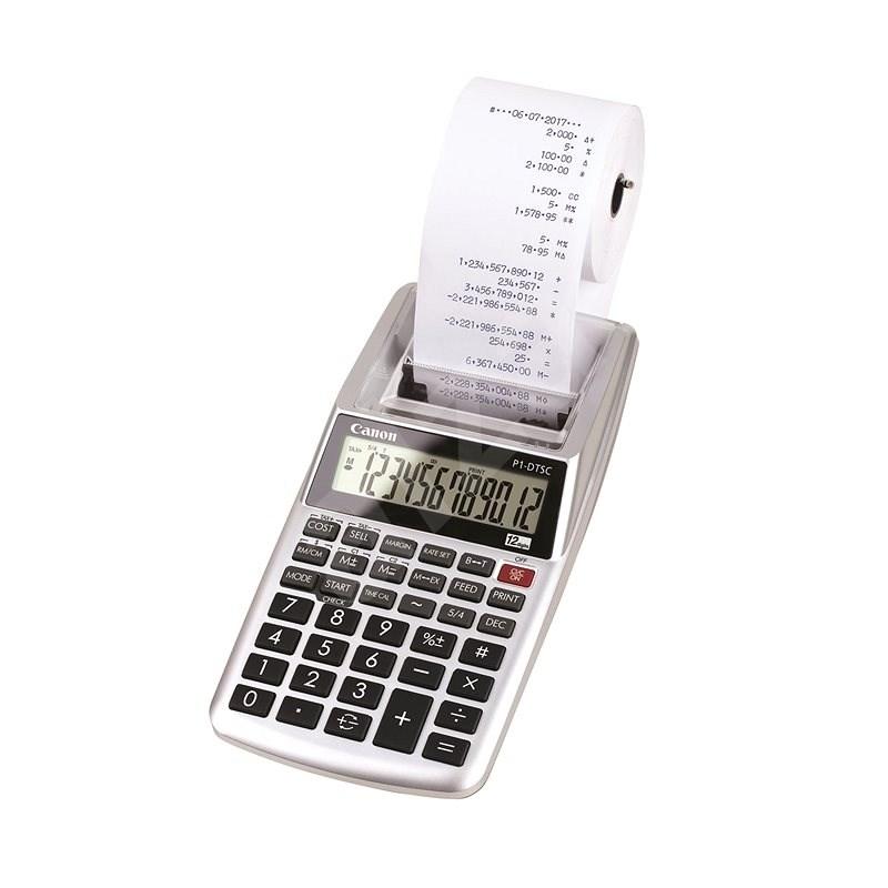 Canon P1-DTSC II  - Kalkulačka