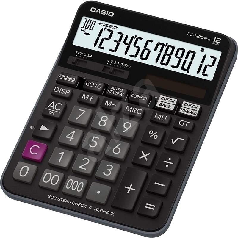 CASIO DJ 120 D PLUS - Kalkulačka