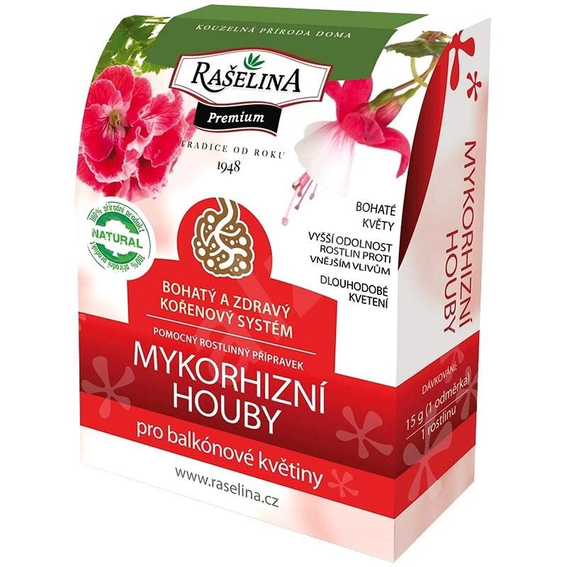 RAŠELINA SOBĚSLAV PREMIUM Mykorhizní houby pro balkónové květiny 750g - Rašelina