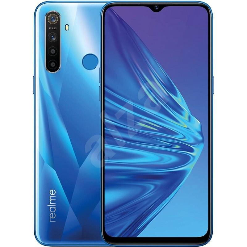 Realme 5 DualSIM 128GB modrá - Mobilní telefon