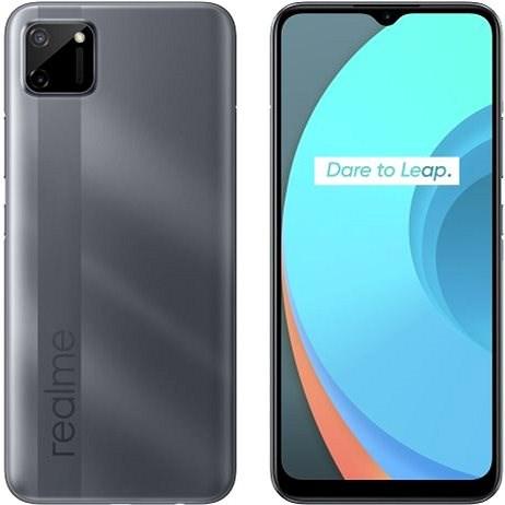 Realme C11 DualSIM šedá - Mobilní telefon