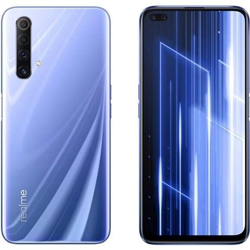 Realme X50 5G DualSIM gradientní fialová - Mobilní telefon