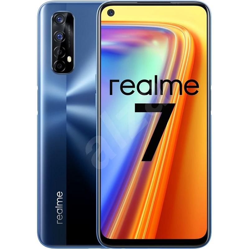 Realme 7 Dual SIM 8+128GB modrá - Mobilní telefon