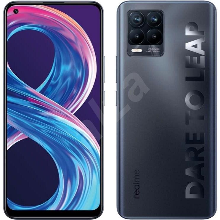 Realme 8 Pro DualSIM 8+128GB černá - Mobilní telefon