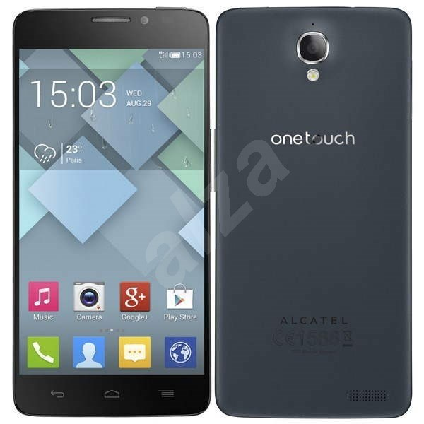 ALCATEL ONETOUCH IDOL X 6040D Slate Dual SIM - Mobilní telefon