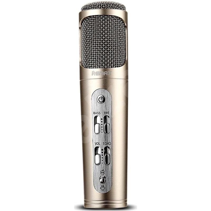 Remax RM-K02 gold - Mikrofon