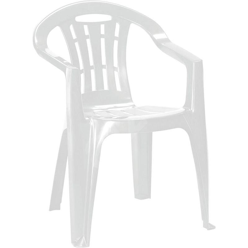 ALLIBERT Křeslo MALLORCA bílá - Zahradní křeslo