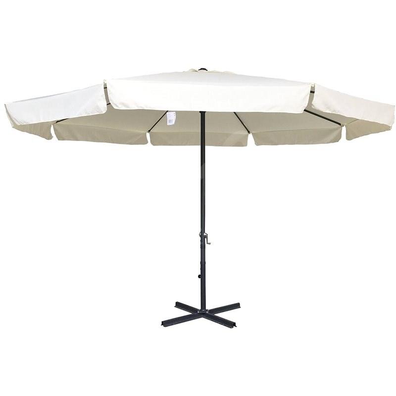 ROJAPLAST STANDART 4m (8010S) Parasol, White - Sun umbrella