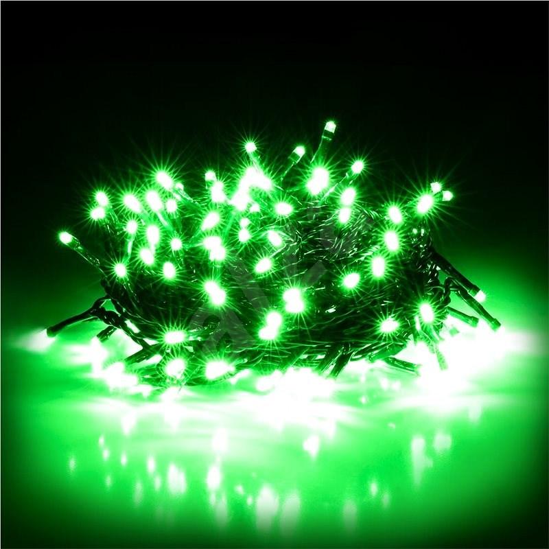 RETLUX RXL 306 řetěz 150LED 15+5m GREEN   - Vánoční řetěz